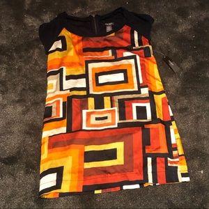 Bisou Bisou retro mini dress